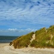 Ameland, strandopgang en duinlandschap
