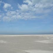 Ameland wit strand – zandvlakte
