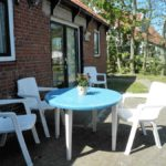 Boerkerij – zonnig terras boerderij-appartement Blieneweg III – Hollum Ameland
