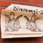 Naambord Boerkerij Blieneweg 1-2 Hollum Ameland