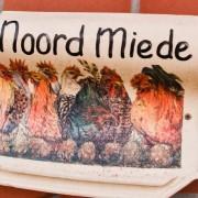 Naambord – Boerkerij Noordmiede Hollum Ameland