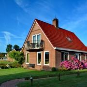 Voor en zijaanzicht huis – Boerkerij Wijde Blik Hollum Ameland