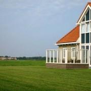 Weidevilla vooraanzicht (2) – Boerkerij Hollum Ameland