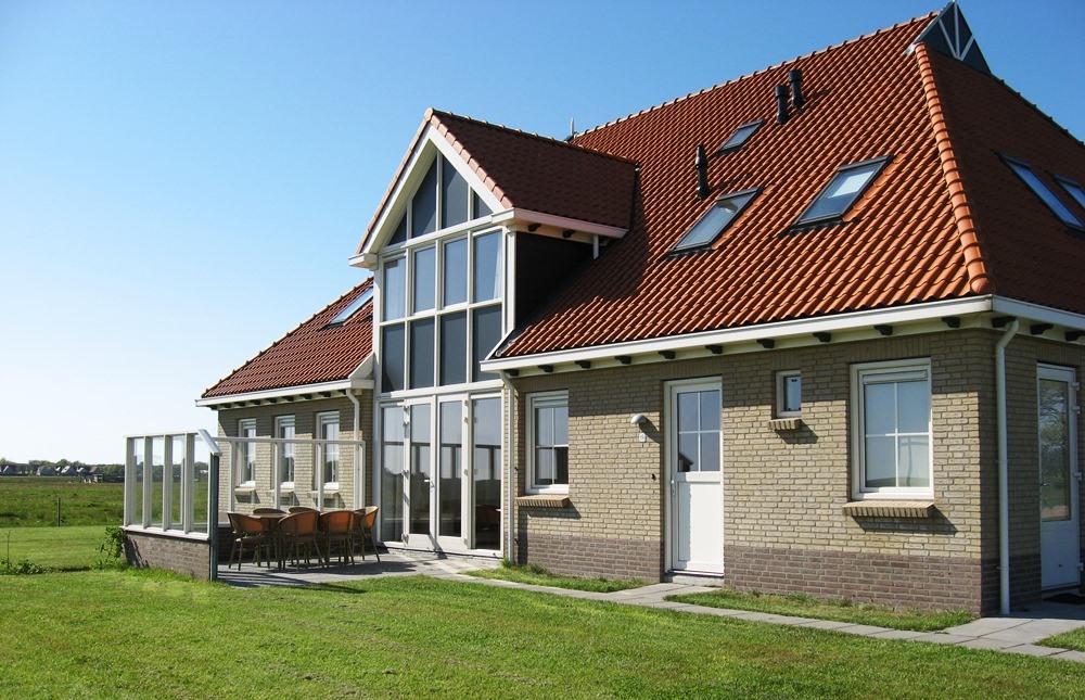 Weidevilla vooraanzicht (4) – Boerkerij Hollum Ameland
